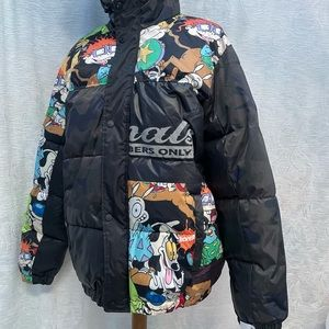 Members Only x Nickelodeon Rug Rats NWT Scuba Puffer Coat - Unisex